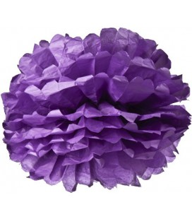 Large Purple Pom Pom