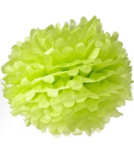 Medium Lime Pom Pom