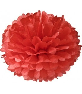 Large Red Pom Pom