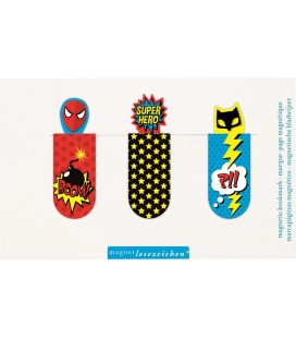 Magnetic Bookmarks Super Hero