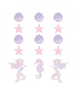 Shimmer Mermaid Dangler Decorations