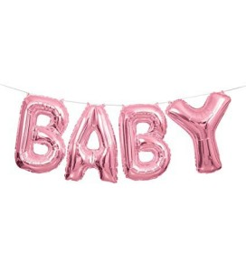 Ballon Mylar Baby Rose