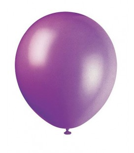 10 Deep Purple Balloons