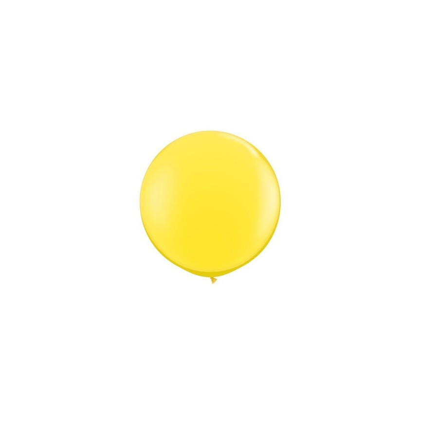 6 Giant Yellow Balloons