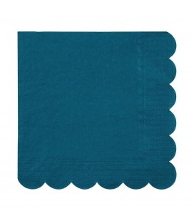 20 Entenblau Napkins