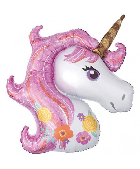 Magical Unicorn Mylar Balloon