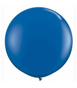 6 Ballons Géants Bleu Royal