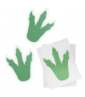 Dinosaur Foot Print Stickers