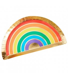 Over the Rainbow Plates