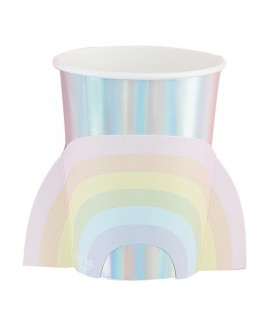 Pastel Party Rainbow Cups