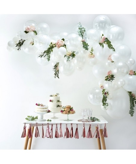 White Balloon Arch Kit