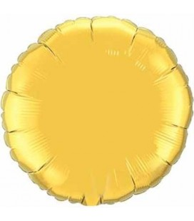 Gold Round Mylar Balloon