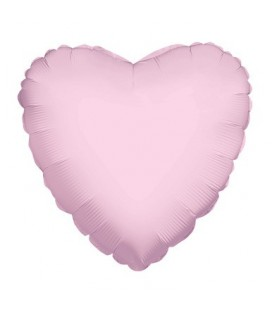 Pink Heart Mylar Balloon