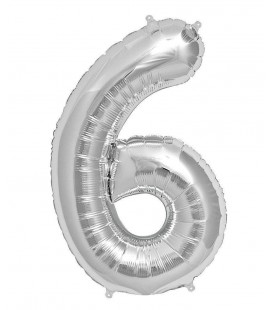 Mylar Ballon Number 6