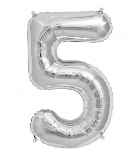 Mylar Ballon Number 5