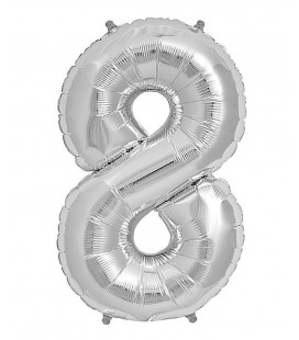Mylar Ballon Number 8