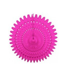 Magenta Honeycomb Fan