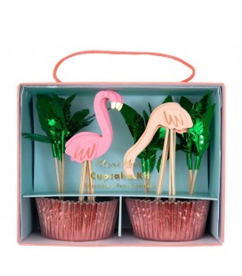 Kit Cupcake Flamand Rose