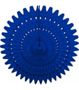 Royal Blue Honeycomb Fan