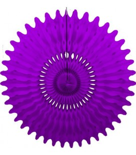Purple Honeycomb Fan
