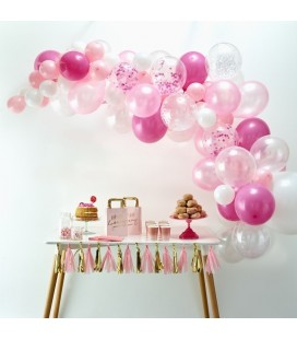 Pink Balloon Arch Kit