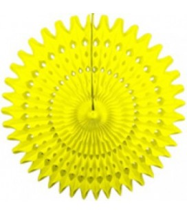 Yellow Honeycomb Fan