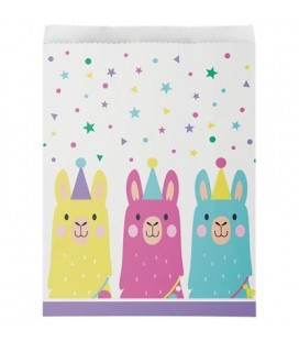 Llama Party Treat Bags