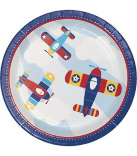 Little Airplane Dinner Plates