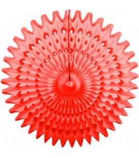 Red Honeycomb Fan