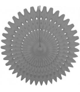 Grey Honeycomb Fan