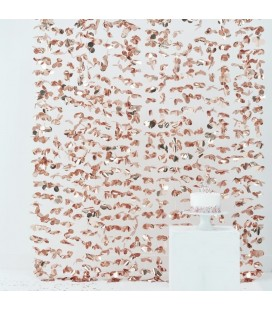 Rose Gold Petal Curtain