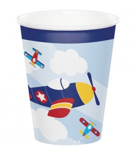 Little Airplane Cups