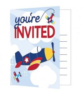 Little Airplane Invitations