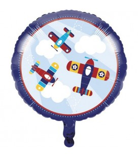 Little Airplane Mylar Balloon