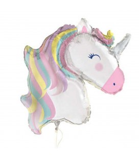 Unicorn Pastel Mylar Balloon