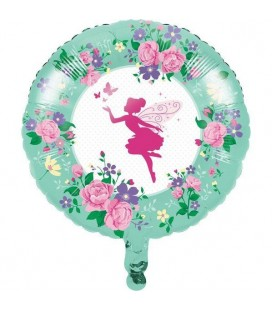 Floral Fairy Foil Balloon