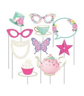 Flowery Tea Party Photo Booth