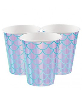 Shimmer Mermaid Cups