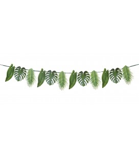 Fiesta Party Palm Leaf Paper Garland