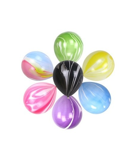 8 Marble Balloons