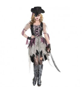 Haunted Pirate Wench Kinderverkleidung