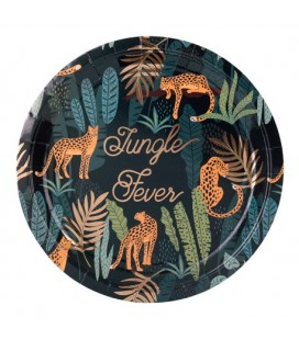 Assiettes Jungle Fever