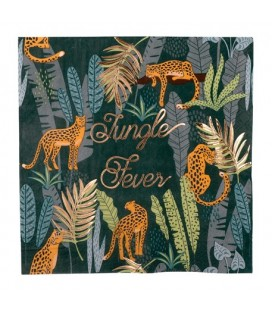 Serviettes Jungle Fever