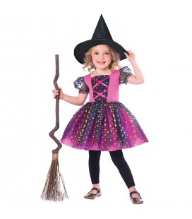 Children's Costume Rainbow Witch