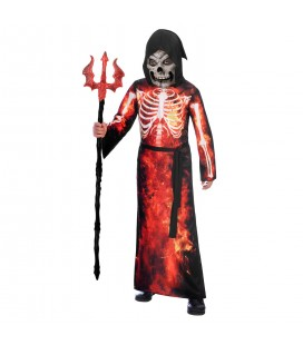 Fire Reaper Children's Costume Fire Reaper Kinderverkleidung Fire Reaper Costume Enfant