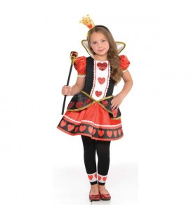 Queen of Hearts Kinderverkleidung