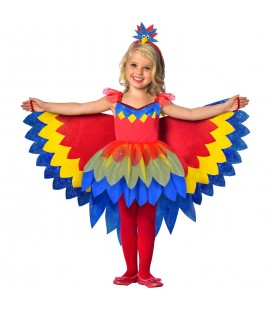 Pretty Parrot Children's Costume