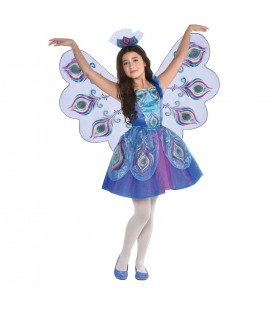 Pretty Peacock Children's Costume