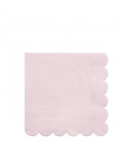 20 Grandes Serviettes Eco – Rose