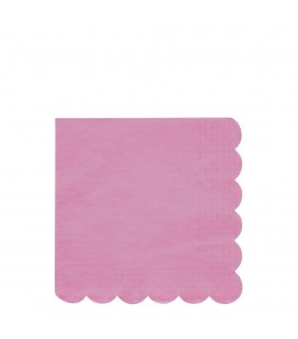 20 Large Simply Eco Napkins – Coral